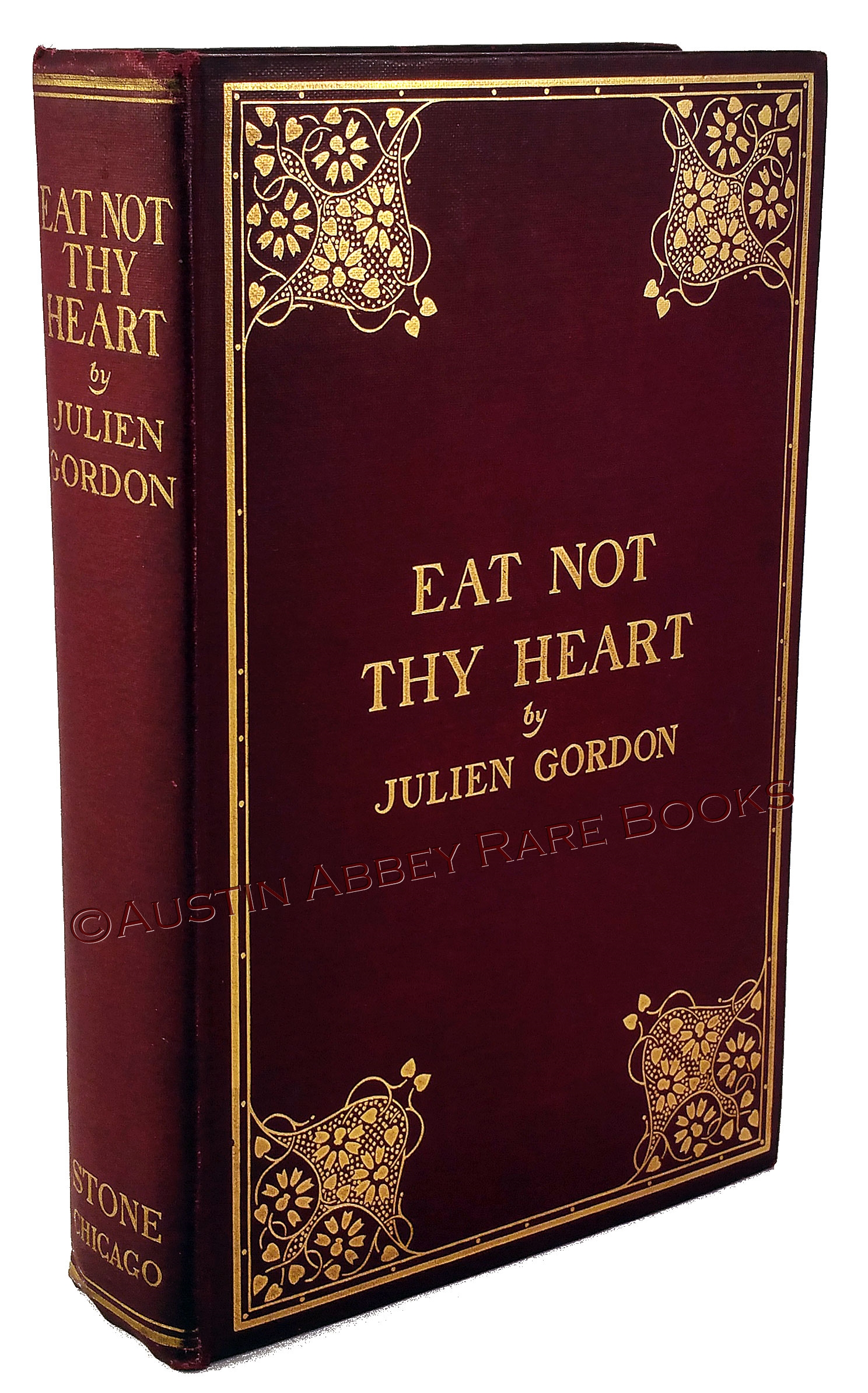 Image for EAT NOT THY HEART