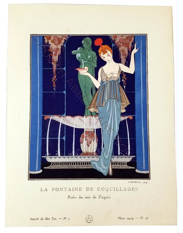 Image for GAZETTE DU BON TON: A COLLECTION OF 50 POCHOIR PLATES