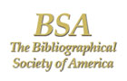 The Bibliographical Society of America logo